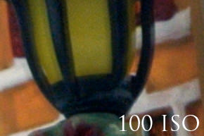 Nikon V1 test ruis