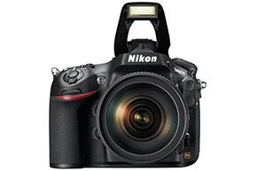 Nikon D800E flash