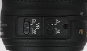 Nikkor 18-55 VR bouw