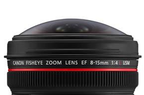 Canon Fisheye zoomlens
