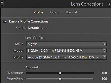 Lenscorrection