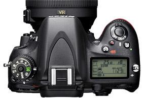 Nikon-D600-topLCD