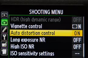 Auto-distortion-control