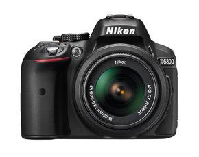 Nikon D5300 test, vooraanzicht