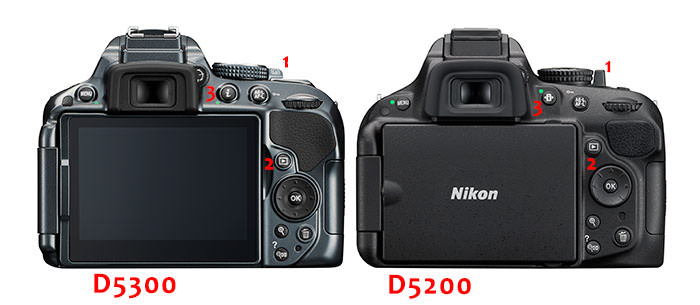 D5200vsD5300