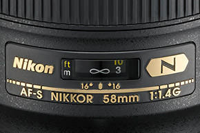 Nikon58mm14
