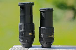 Nikon 18-300-VR vs Nikon 18-300 VR II