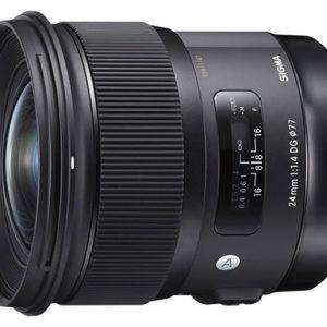 Sigma 24mm f/1.4 DG HSM Art – Canon EF