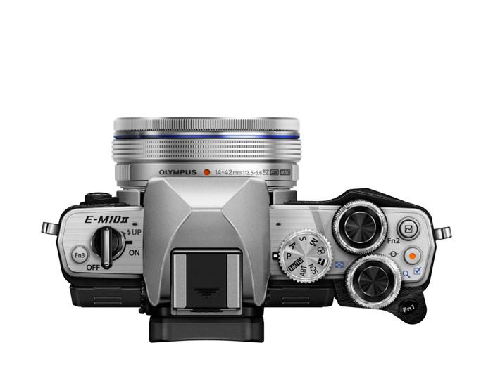 OM D E M10 Mark II EZ M1442EZ silver ProductTop 001