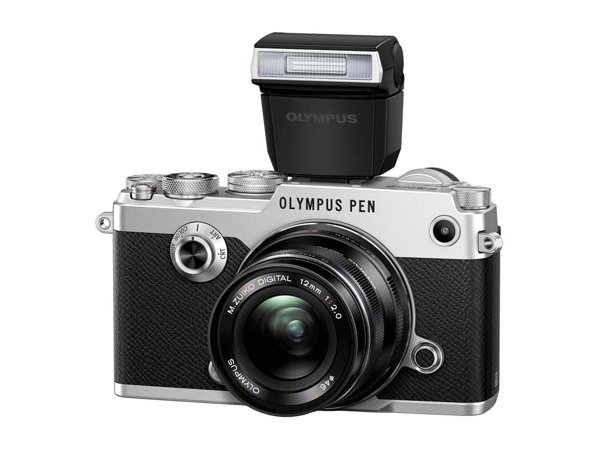 PEN PEN F EW M1220 FL LM3 silver black Product 010
