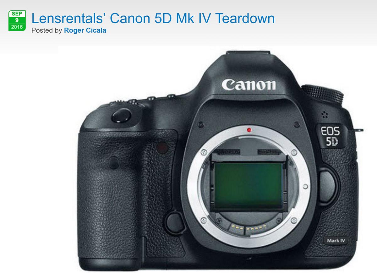 Canon 5D mk4 striptease