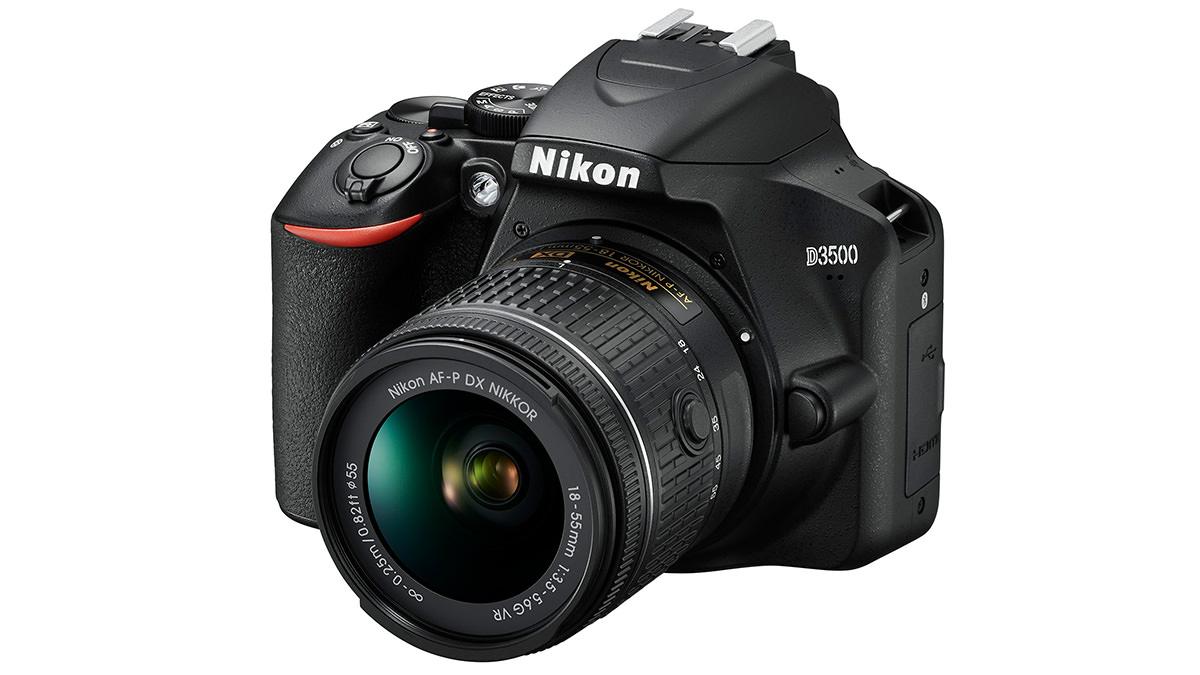 Nikon D3500 productopname