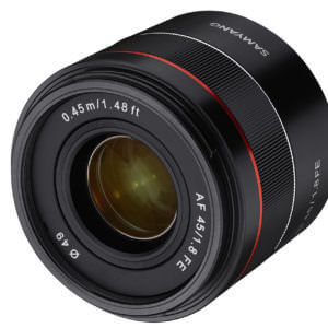 Samyang 45mm f/1.8 FE