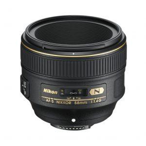Nikon AF-S 58mm 1.4G