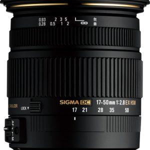 Sigma 17-50 mm f/2.8 EX DC OS HSM