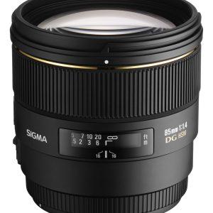Sigma 85 mm f/1.4 EX DG HSM