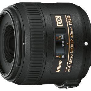 Nikon 40 mm f/2.8G AF-S DX Micro Nikkor