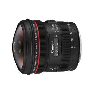 Canon EF 8-15 mm f/4L USM Fisheye