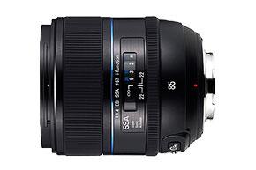 Samsung 85mm f/1.4 ED SSA NX