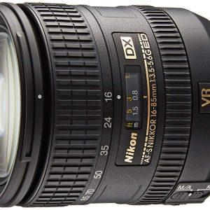 Nikon 16-85 mm f/3.5-5.6G ED VR DX AF-S Nikkor