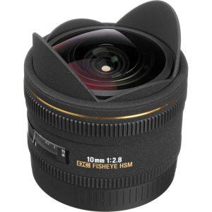 Sigma 10 mm f/2.8 EX DC Fisheye HSM