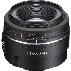Sony 85 mm f/2.8 SAM SAL85F28