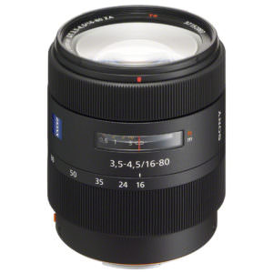Sony 16-80 mm f/3.5-4.5 DT Carl Zeis s Vario-Sonnar T* SAL-1680Z