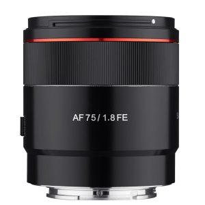 Samyang AF 75mm f/1.8 FE