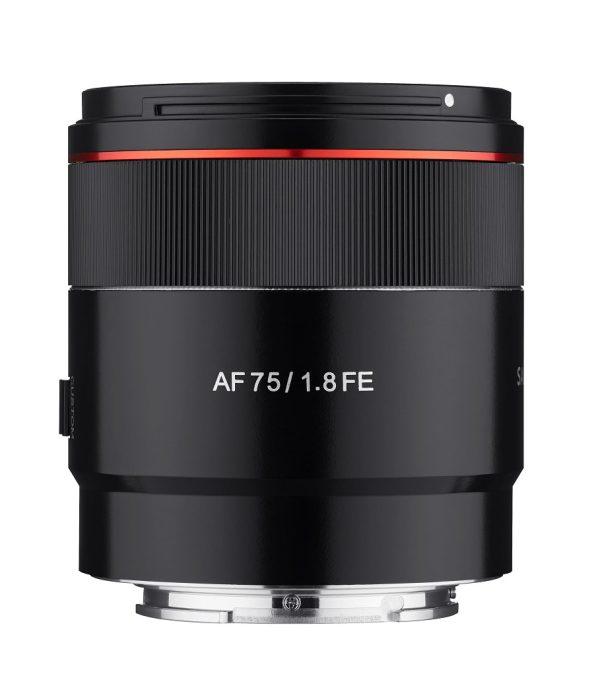 camerastuffreview-Samyang AF75_1.8FE_Front