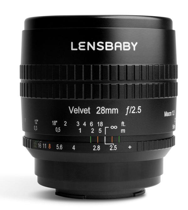 Lensbaby Velvet product shot