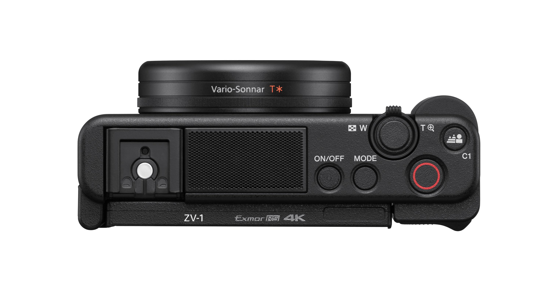 bovenkant Sony ZV-1