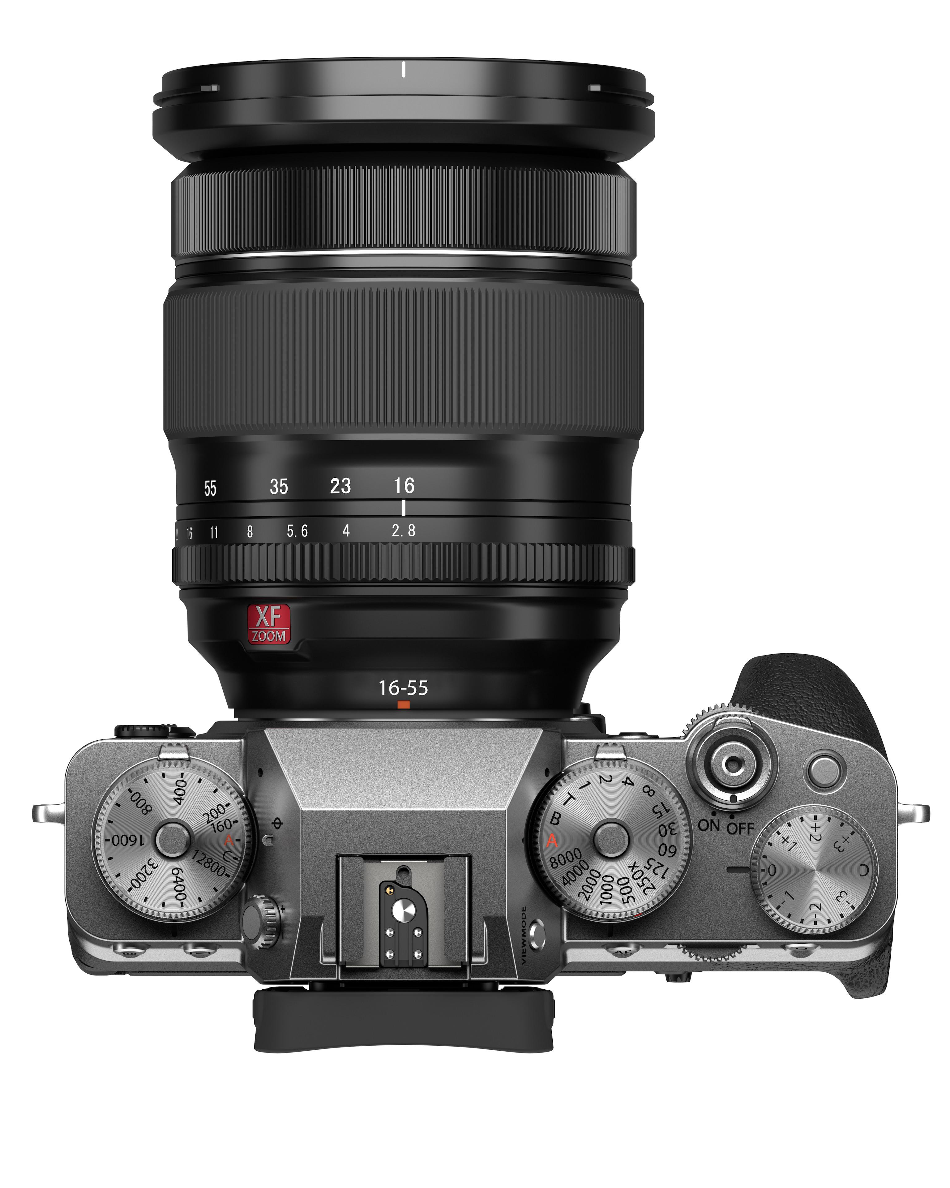 Fujifilm X-T4 product shot bovenkant