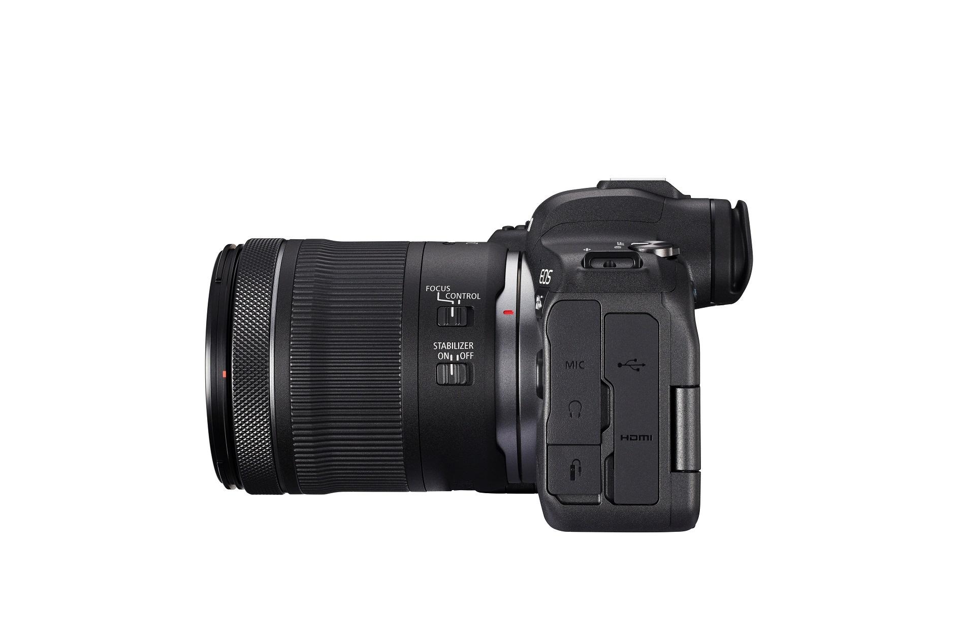 Canon Eos R6 zijkant