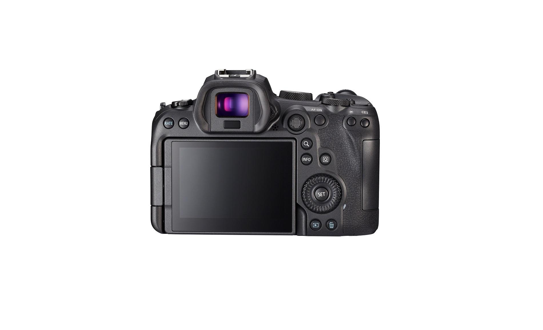 Canon Eos R6 achterkant