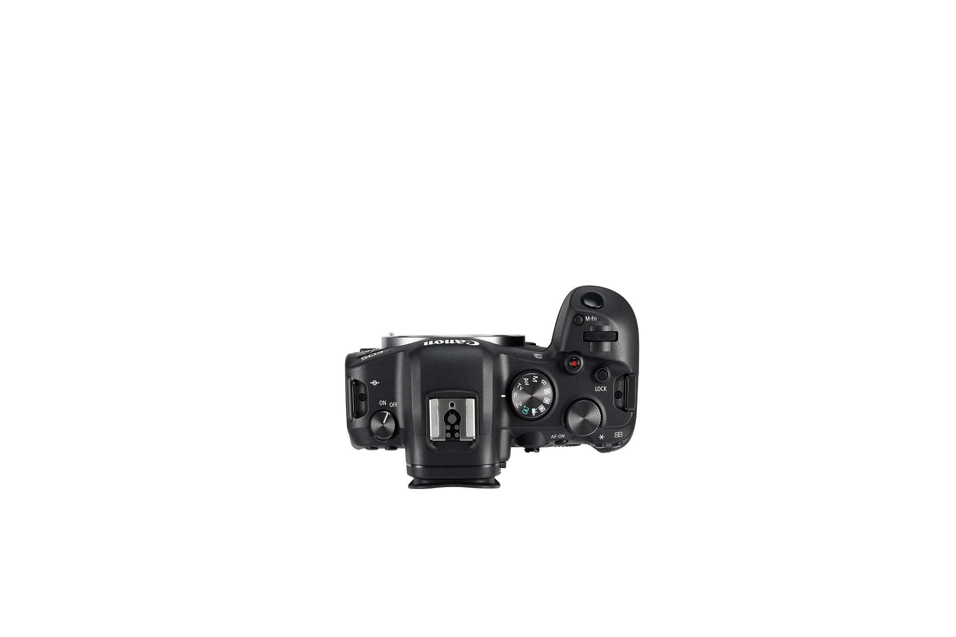 Canon Eos R6 bovenkant