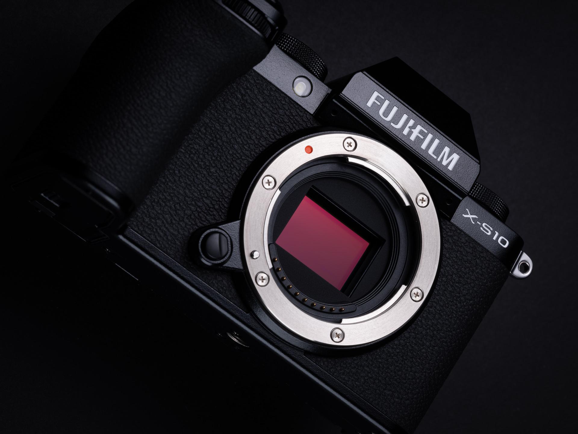 productshot Fujifilm X-S10 sensor