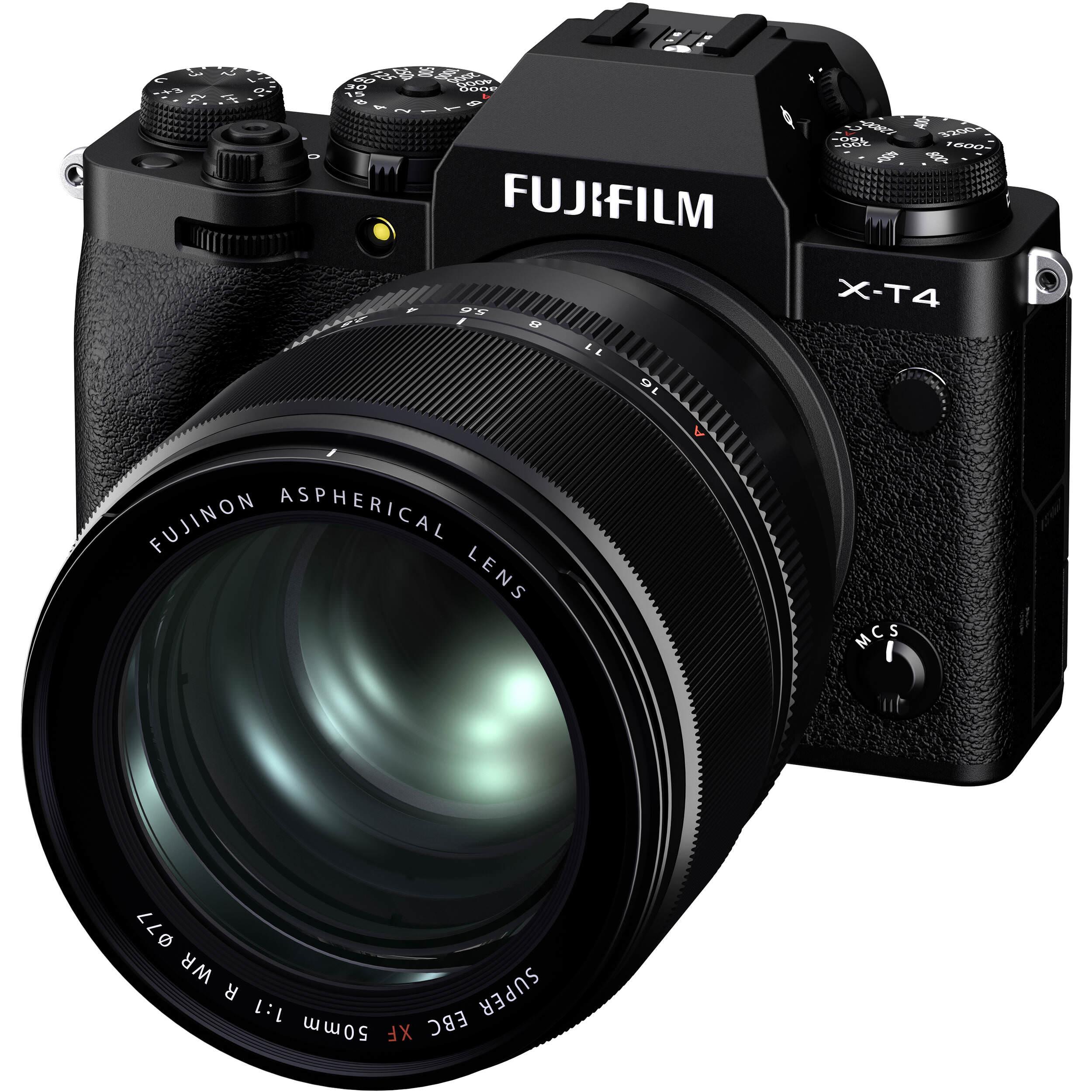 Fujifilm XF 50mm F1.0 R WR front