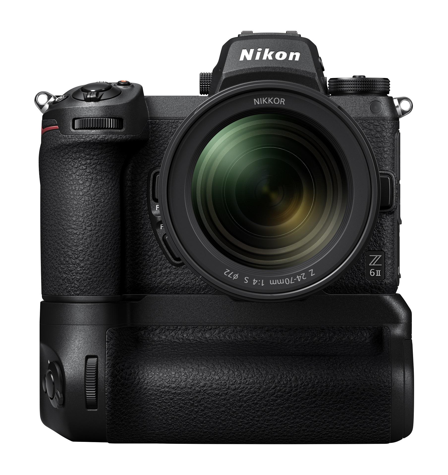 productshot Nikon Z 6II met grip
