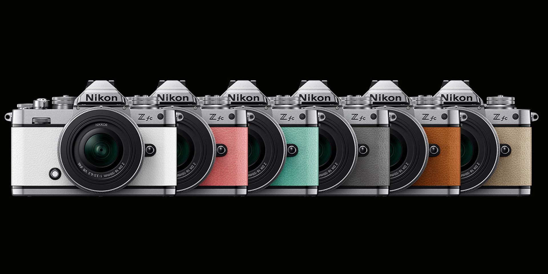 De Nikon Z fc zal ook verkrijgbaar zijn in verschillende kleuren.